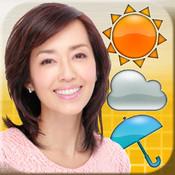早見優お天気アプリ「Yu`s Weather Radio」