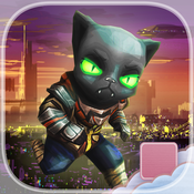 Black Fate Star Luck - PRO - Sci-Fi Cat Endless Street Runner Escape Game