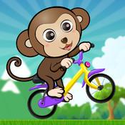 ABC Jungle Bicycle Adventure preschooler eLEARNING app
