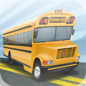 A Crazy School Bus Driver - High Speed Race Track Game Pro