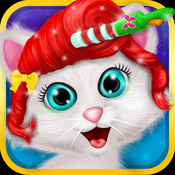Pets Furry Hair Salon – Animal makeover and dress up games for kids