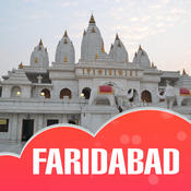 Faridabad City Offline Travel Guide directions