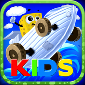 A Sponge Story: Surface Mission Kids - Amazing 3D Driving Adventures Out of the Sea