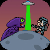 Alien Planet Jumper - SAVE THE PLANET FROM THE ALIEN MONSTER planet