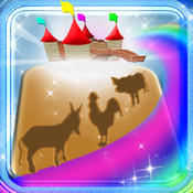 123 Animals Magical Kingdom - Wild Animals Learning Experience Puzzles Game