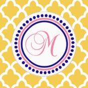 Monogram - Lock Screen & Home Screen Background Wallpaper virtual screen