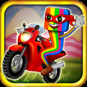 A Candy Clash Ninja Bike Ride – Race to the Draw Line