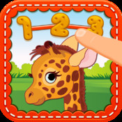 123 Connect the Dots Animals: Learn how to count Numbers
