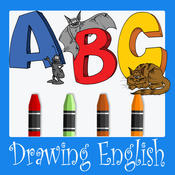 English Alphabet Drawing For Kids