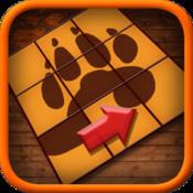 Coulissant Puzzle Jeu Animaux pour iPad