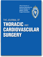 The Journal of Thoracic and Cardiovascular Surgery