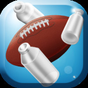 Football Toss Flick Can Knockdown Pro
