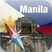 Manila Map manila standard