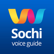 Sochi 2014 is a mobile voice guide by Luscinia, a map, a tour guide, audioguide, monuments, reference book, sites, places, routes excellent reference book