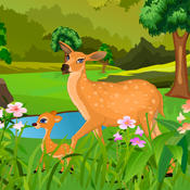 Deer baby birth - games for girls