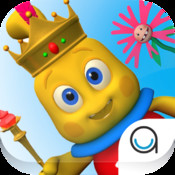 I Am King Story Book with Voice for Kids by Agnitus (Interactive 3D Nursery Rhyme)