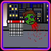 SHOOT THE ZOMBIE HEAD (a halloween basketball shot game)